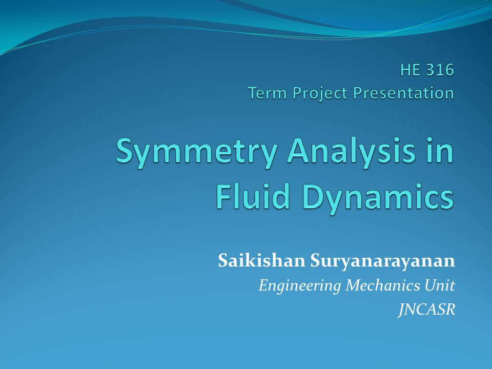 Saikishan Suryanarayanan Engineering Mechanics Unit JNCASR