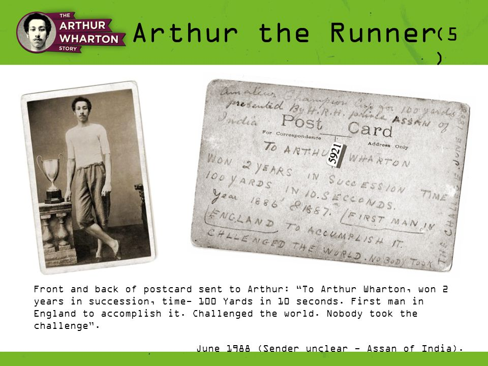 Arthur the Runner (6 ) He has neither system nor style, but he runs like an express engine with full steam on from first to last with a result that makes both system and style unnecessary .