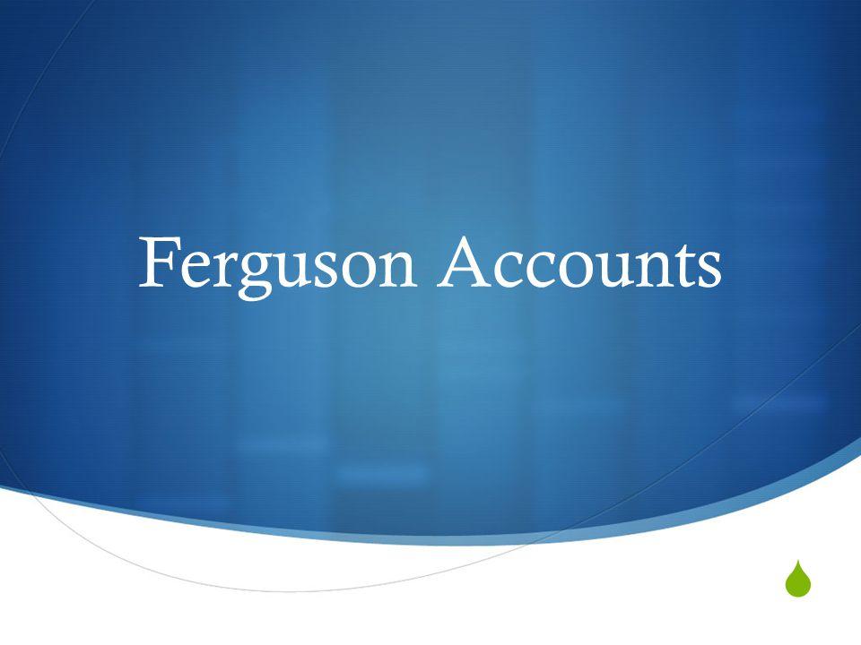  Ferguson Accounts