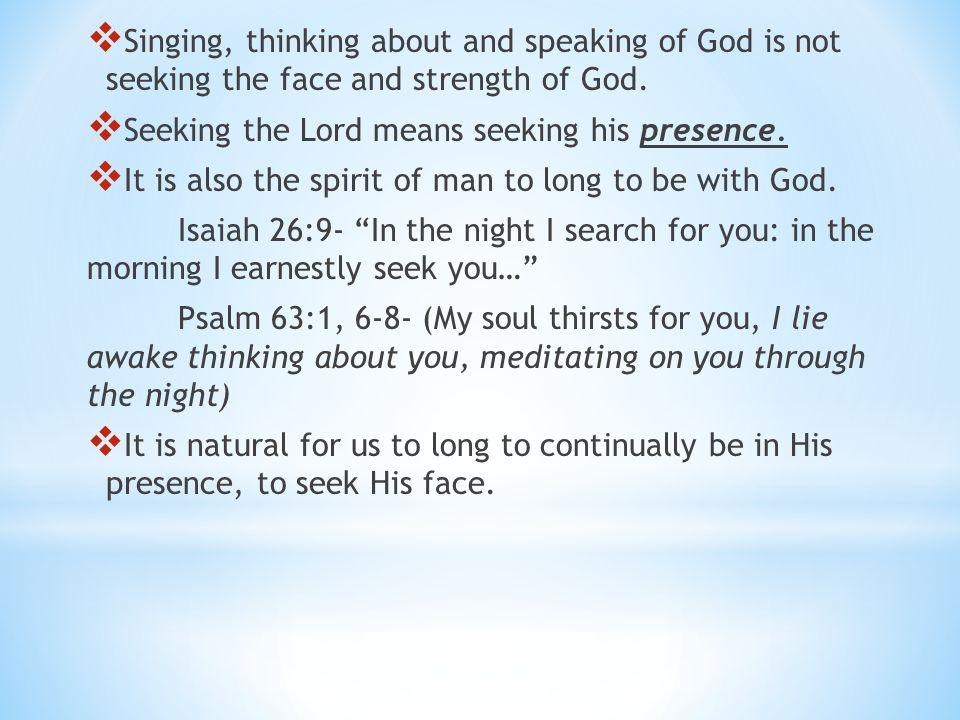 Benefits of seeking God 1.He forgives your sins. (Psalm 103:3) 2.