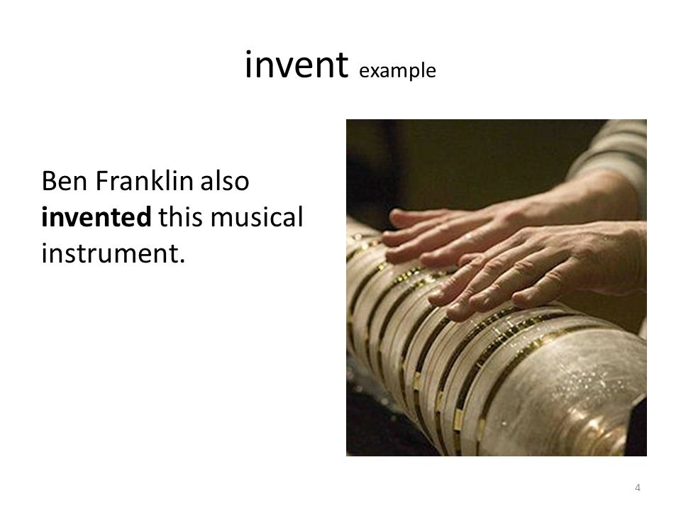 invent word relatives inventverb inventedverb inventionsnoun inventornoun Would you like to invent something new.