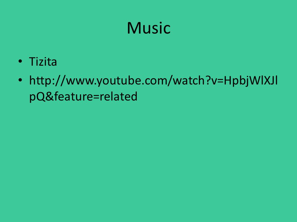 Music Tizita http://www.youtube.com/watch v=HpbjWlXJl pQ&feature=related