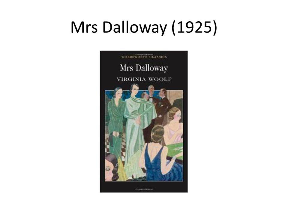 Mrs Dalloway (1925)