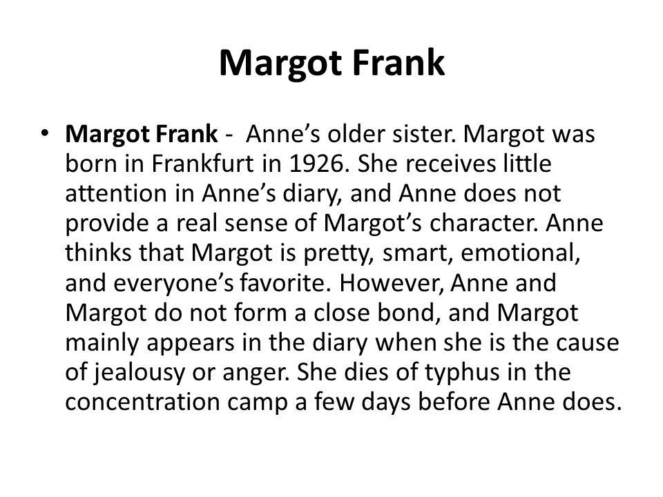 Hanneli Anne's school friend. The Nazis arrest her early in the war.