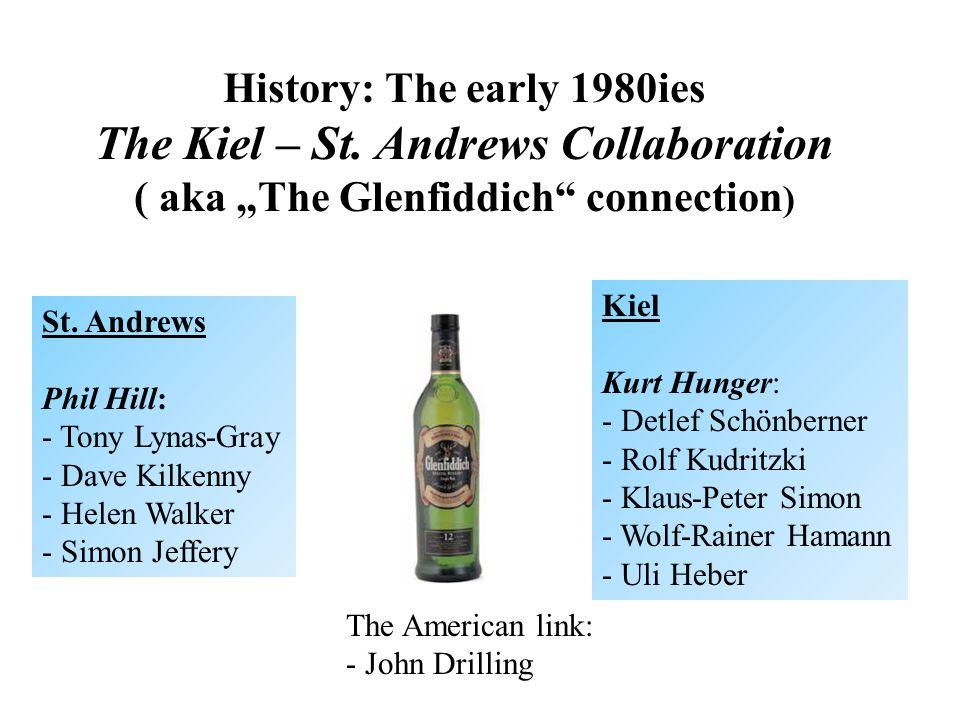 History: The early 1980ies The Kiel – St.