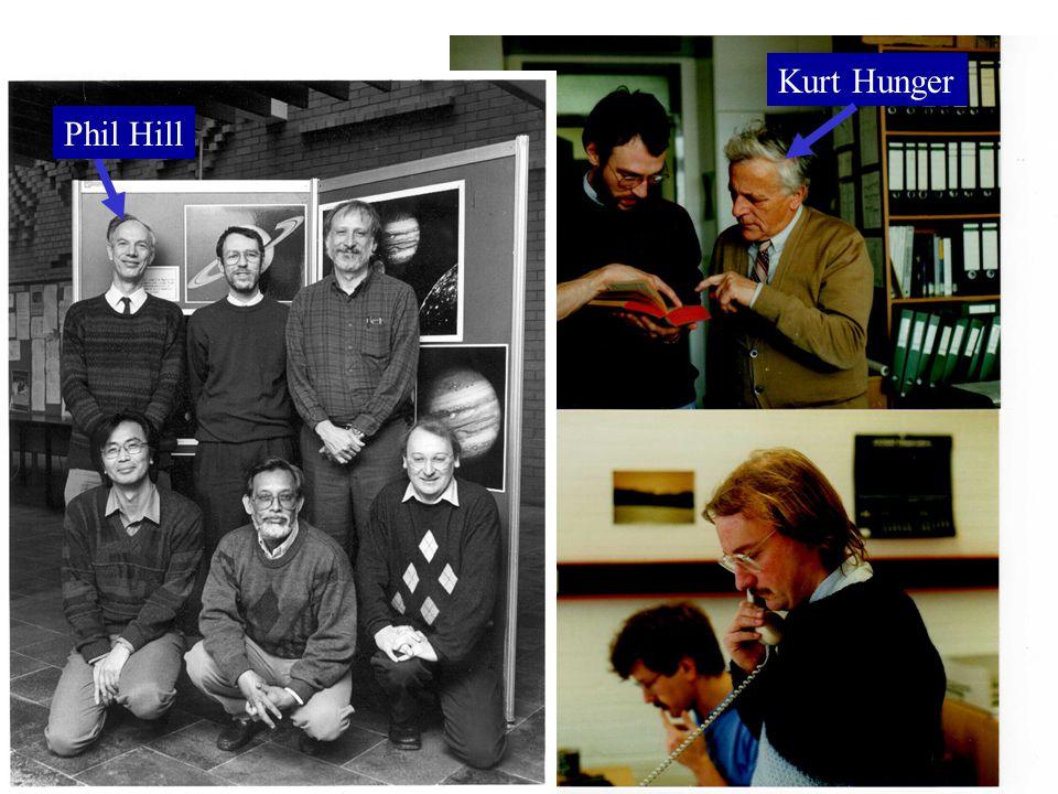 Phil Hill Kurt Hunger