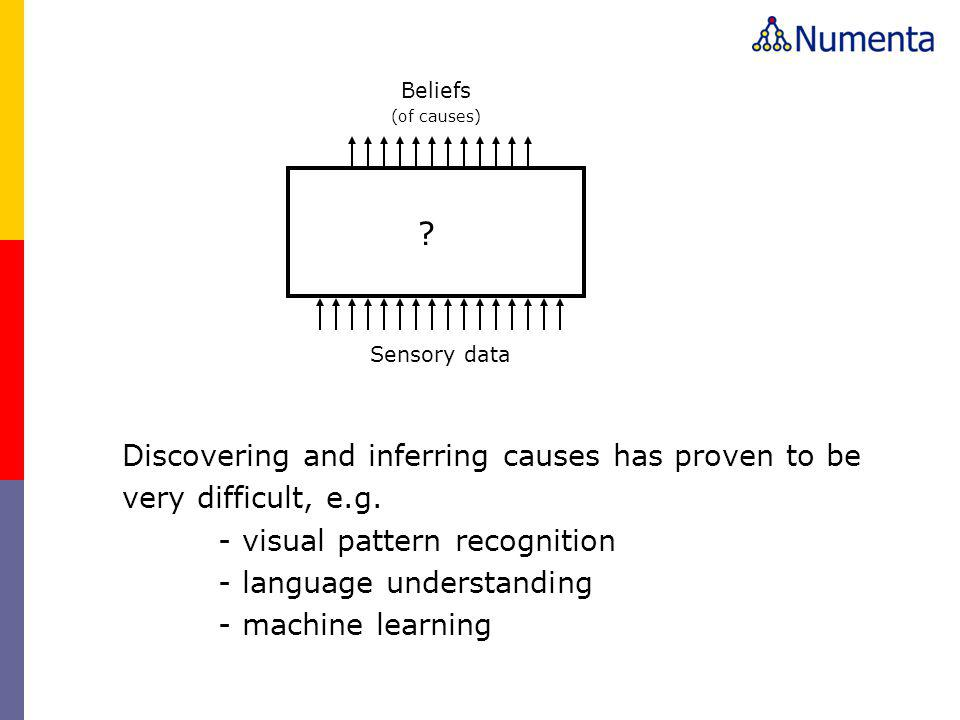 Discovering and inferring causes has proven to be very difficult, e.g.