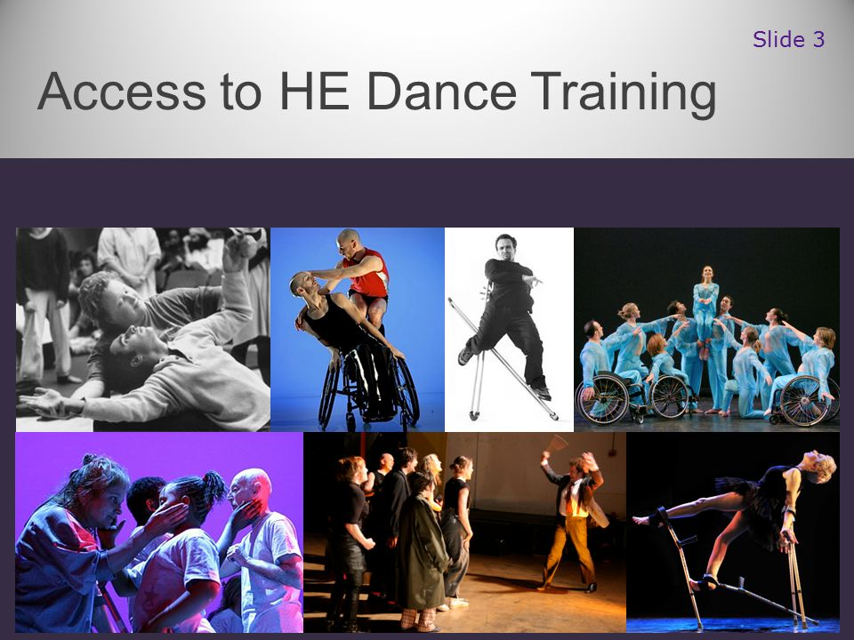 Access to HE Dance Training Slide 3
