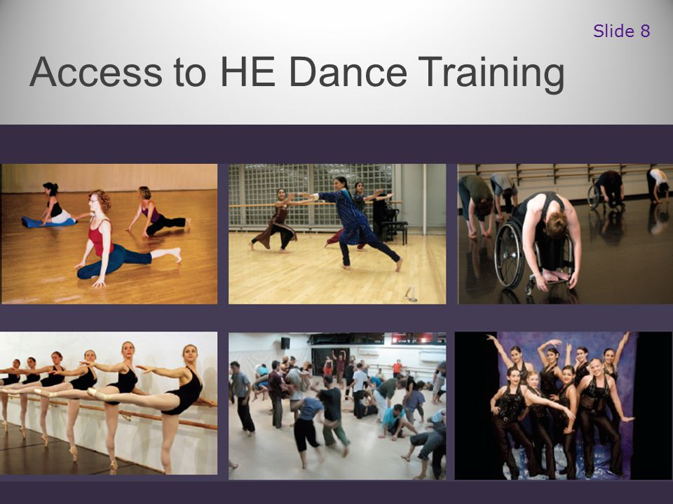 Access to HE Dance Training Slide 8
