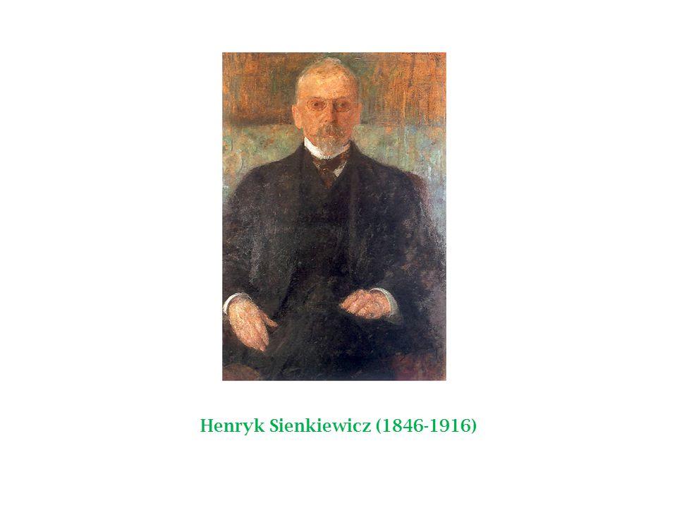 Sienkiewicz was born in Wola Okrzejska.In 1858, Henryk began secondary school in Warsaw.