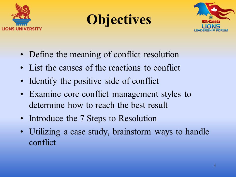 Perceptions~ 4 What comes to mind when you see the word conflict .