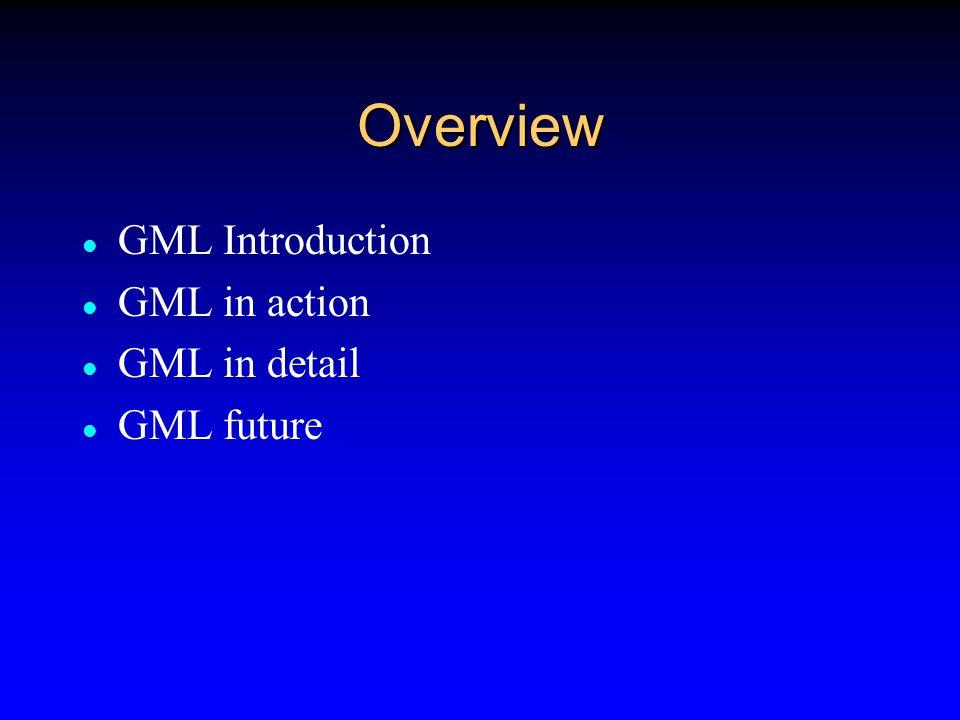 References World Wide Web Consortium (XML,SVG,XSLT)  www.w3.org OpenGis Consortium (GML)  www.opengis.org European Petroleum Survey Group EPSG (SRS)  www.ihsenergy.com/epsg/epsg.html Web 3D Consortium (VRML, GeoVRML)  www.vrml.org