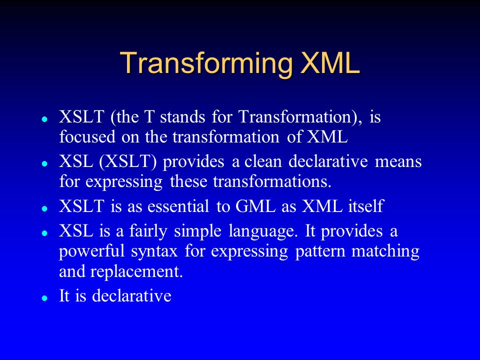 XML advantages Using XML is it is comparatively easy to generate and validate complex hierarchical data structures.