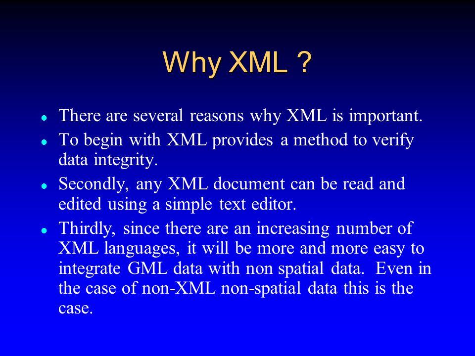 Why GML .