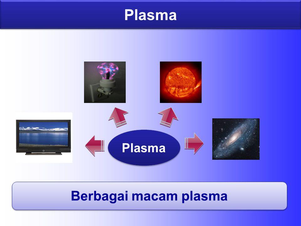 Plasma Berbagai macam plasma