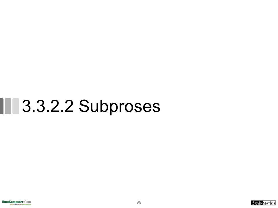 3.3.2.2 Subproses 98