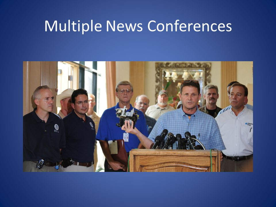 Multiple News Conferences