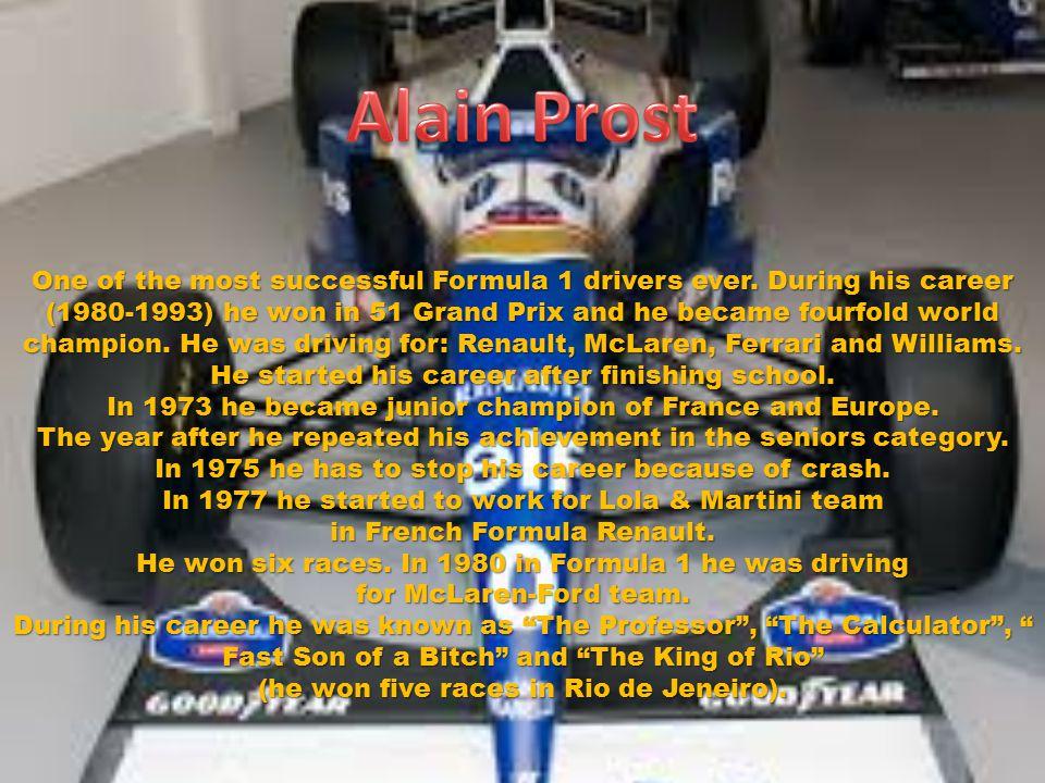 Lauda was born in rich family.