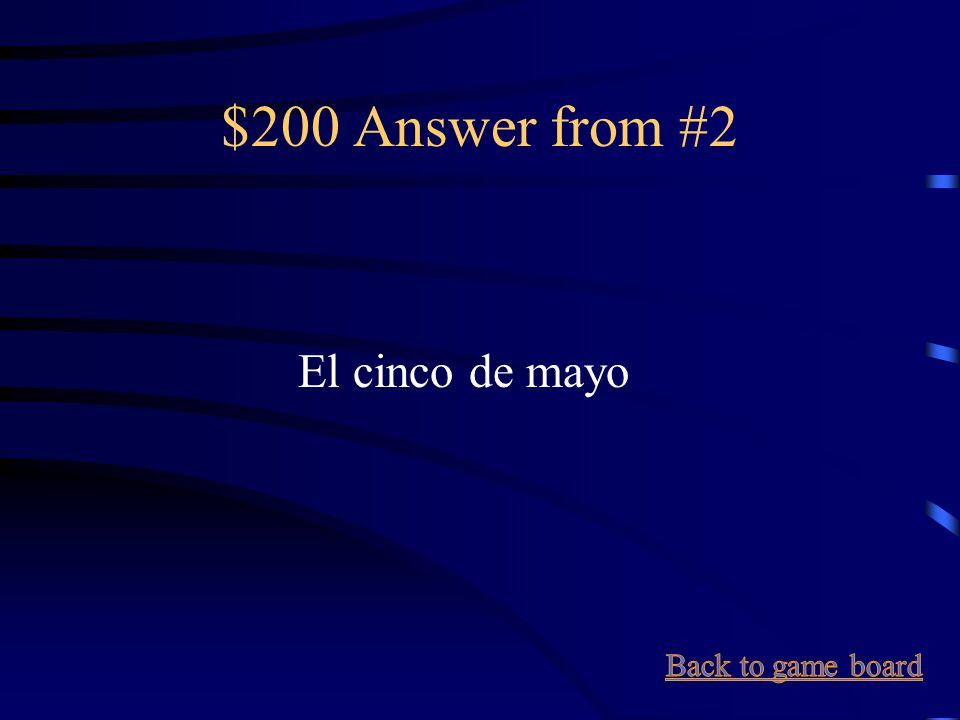 $200 Question from #2 May 5