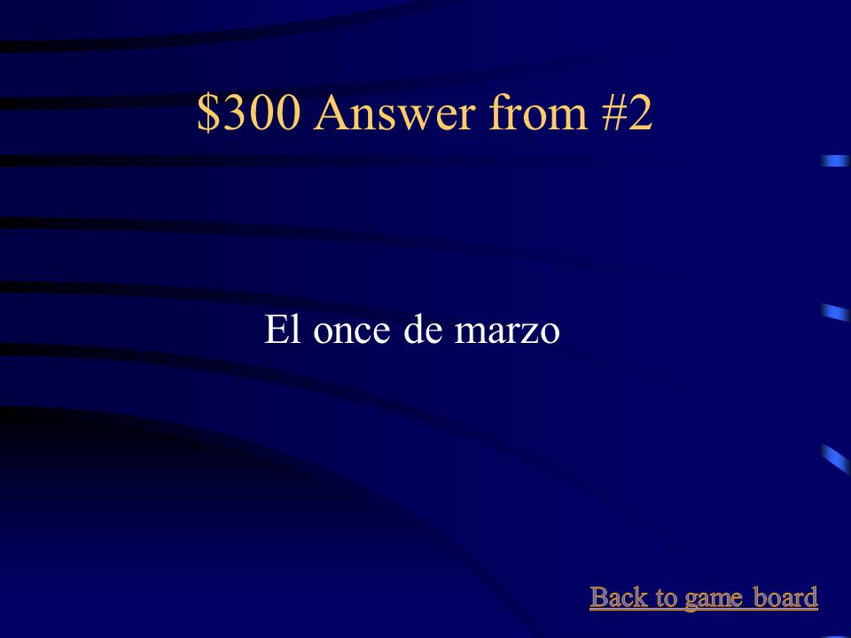 $300 Question from #2 March 11
