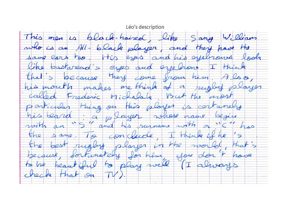 Léo's description