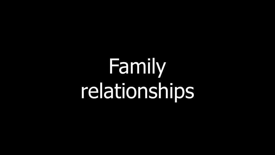 Familyrelationships