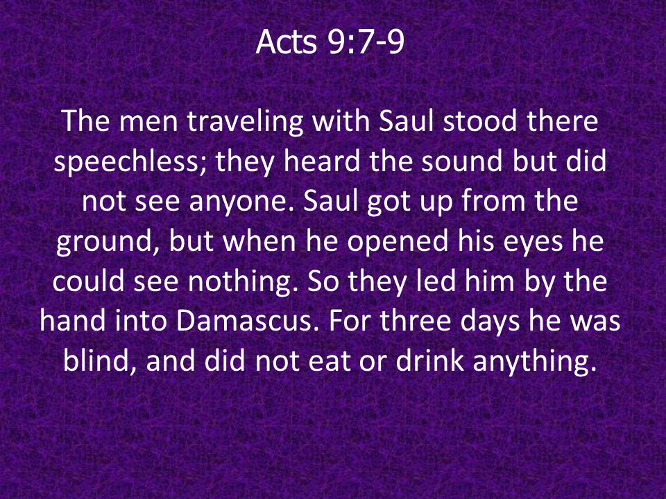 Acts 20:22-24 And now, compelled by the Spirit, I am going to Jerusalem, not knowing what will happen to me there.