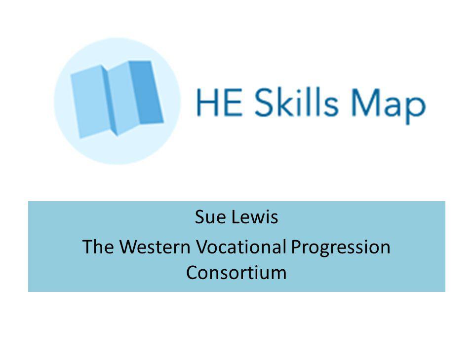 Sue Lewis The Western Vocational Progression Consortium