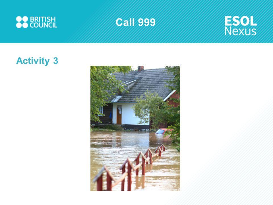 Call 999 Activity 3