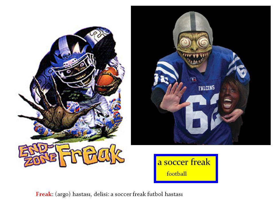 a soccer freak football