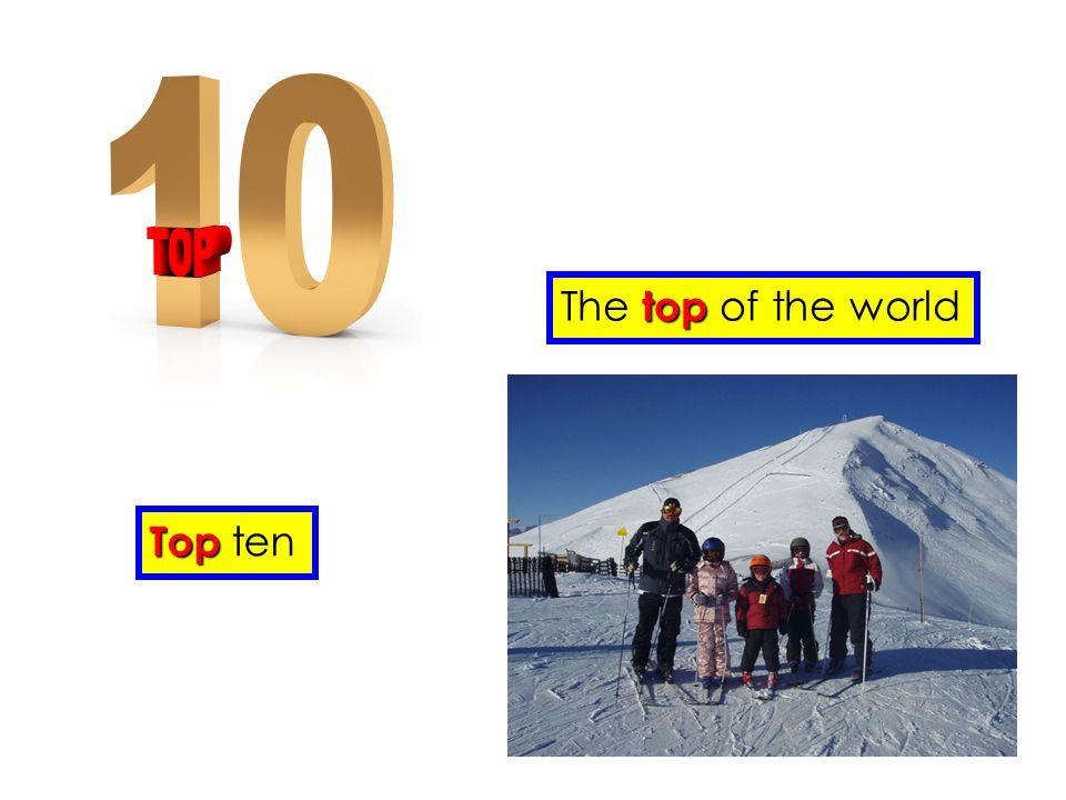 Top Top ten The t tt top of the world