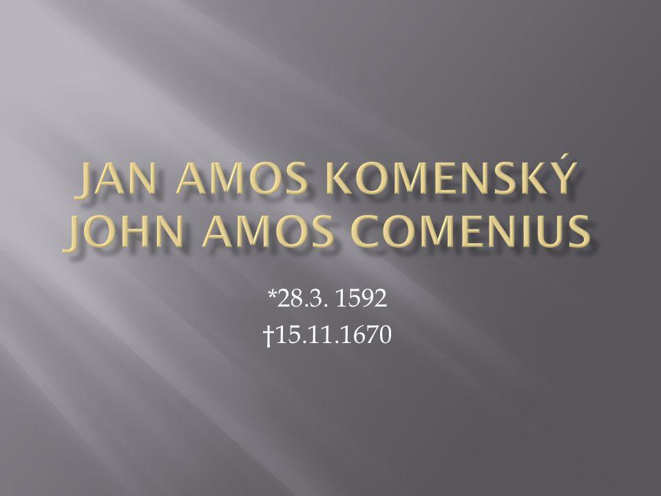 *28.3. 1592 †15.11.1670