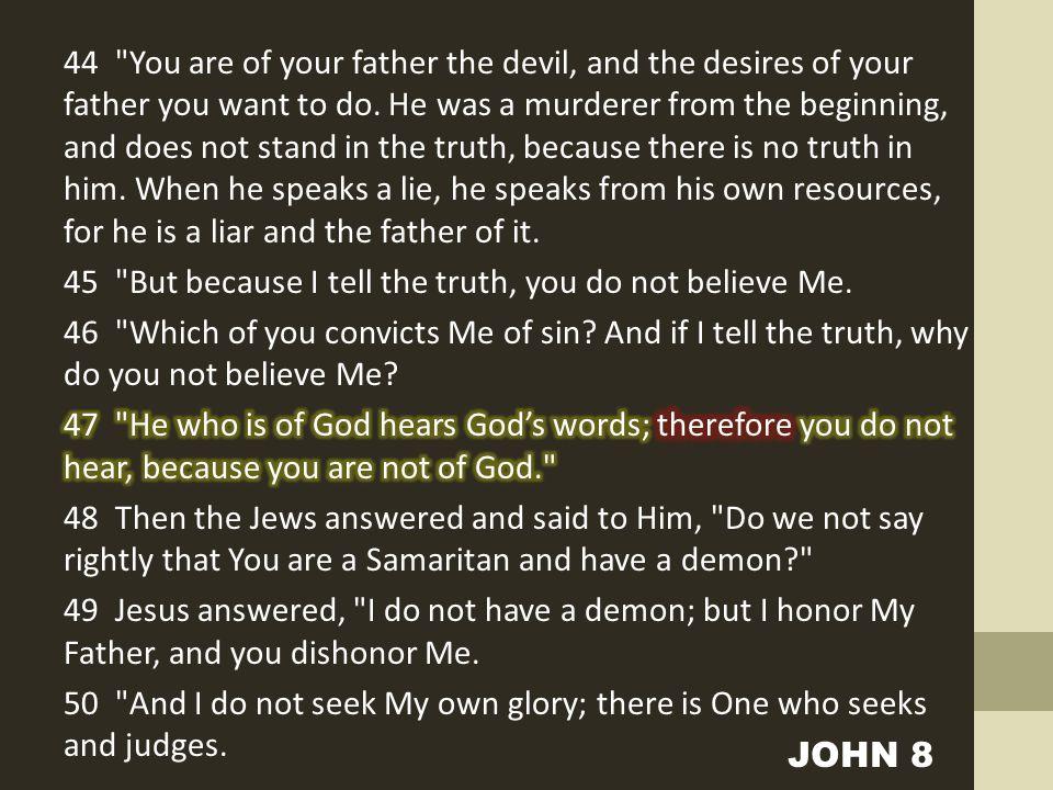 JOHN 8