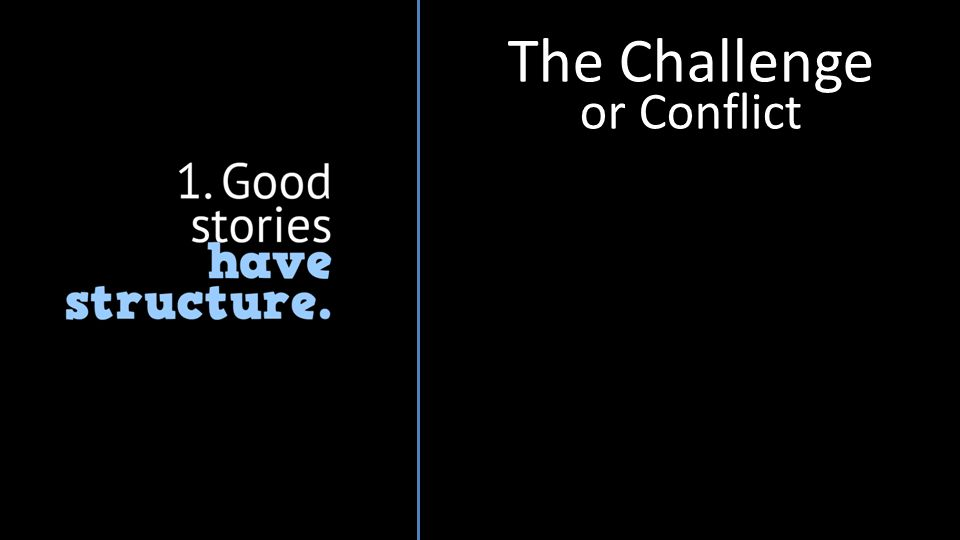 The Challenge or Conflict