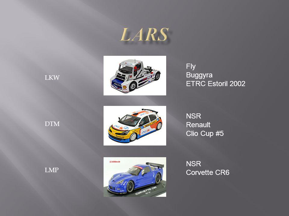 LKW DTM LMP Fly Buggyra ETRC Estoril 2002 NSR Renault Clio Cup #5 NSR Corvette CR6