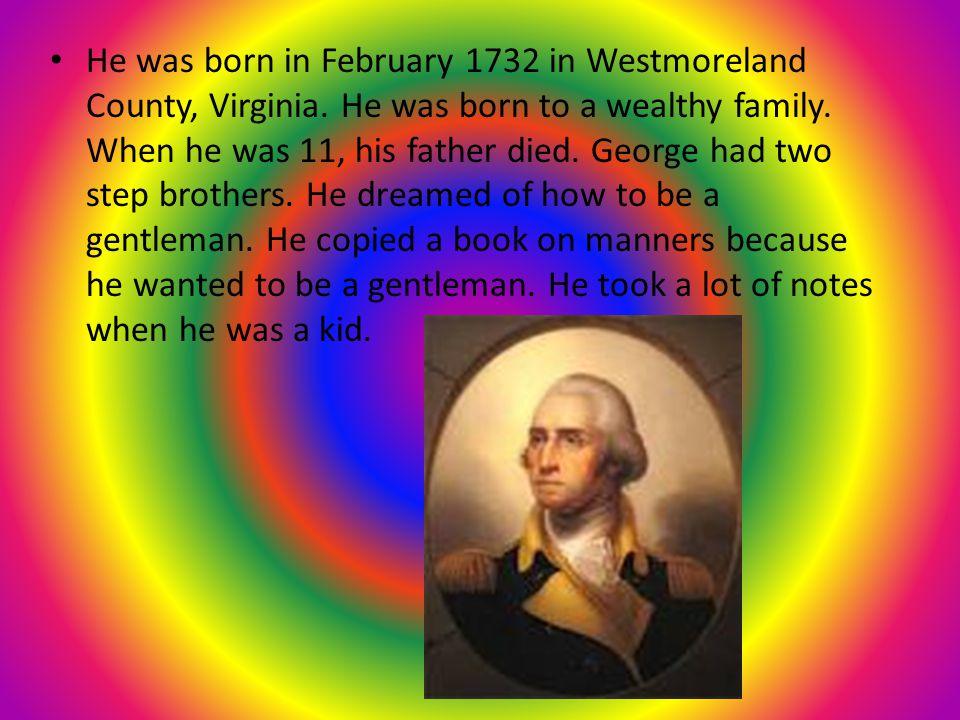 George Washington By: Hunter Hucek