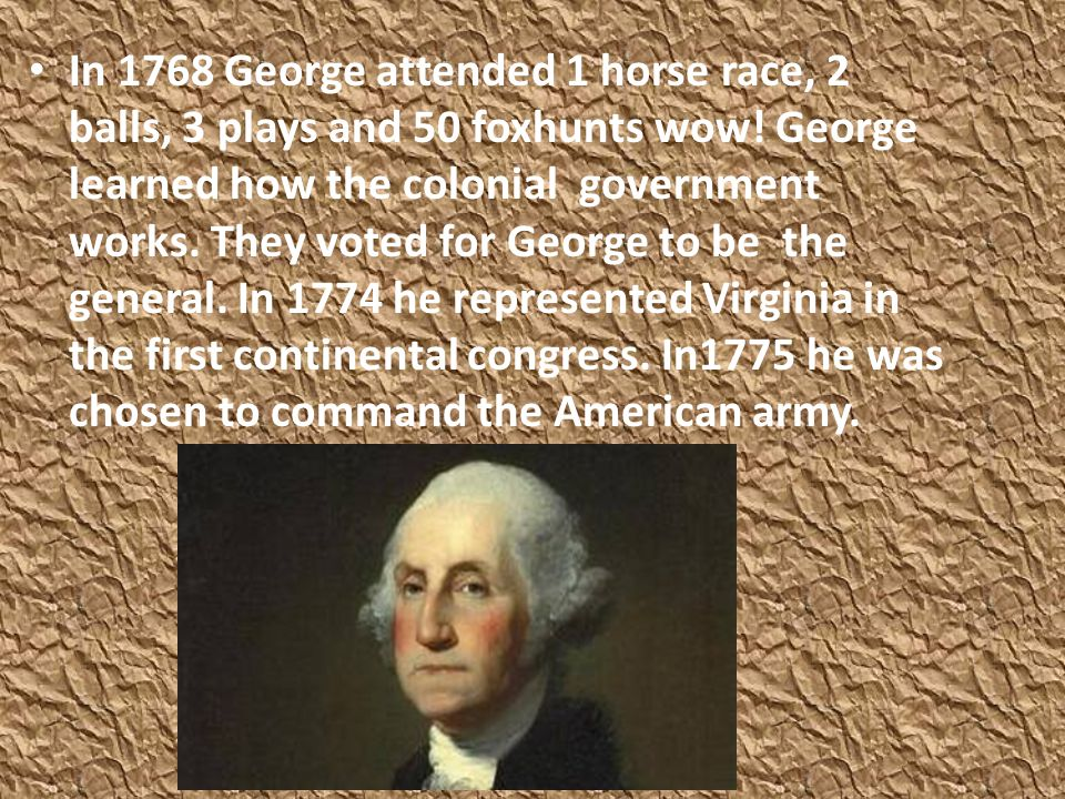 George really needed money to improve his land. He would visit Martha when he got the time. By the end of 1758, George and his troops pushed the Frenc