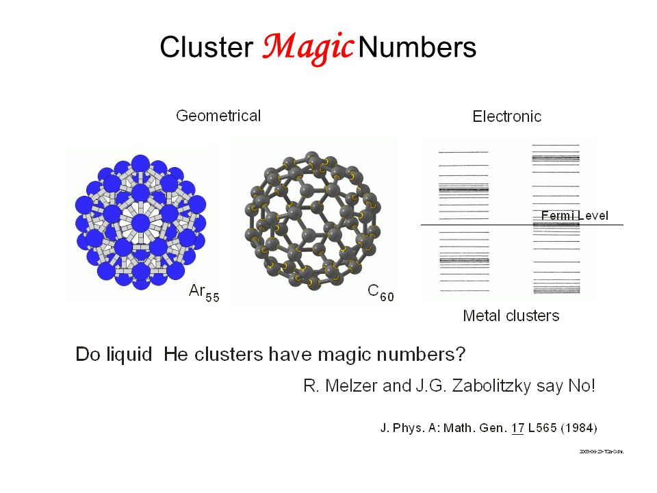 Recent highly accurate diffusion Monte Carlo (T=0) calculation rules out existence of magic numbers due to stabilities: R.