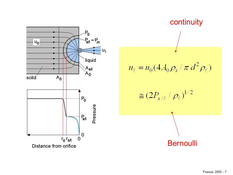 continuity Bernoulli Firenze 2005 - 7