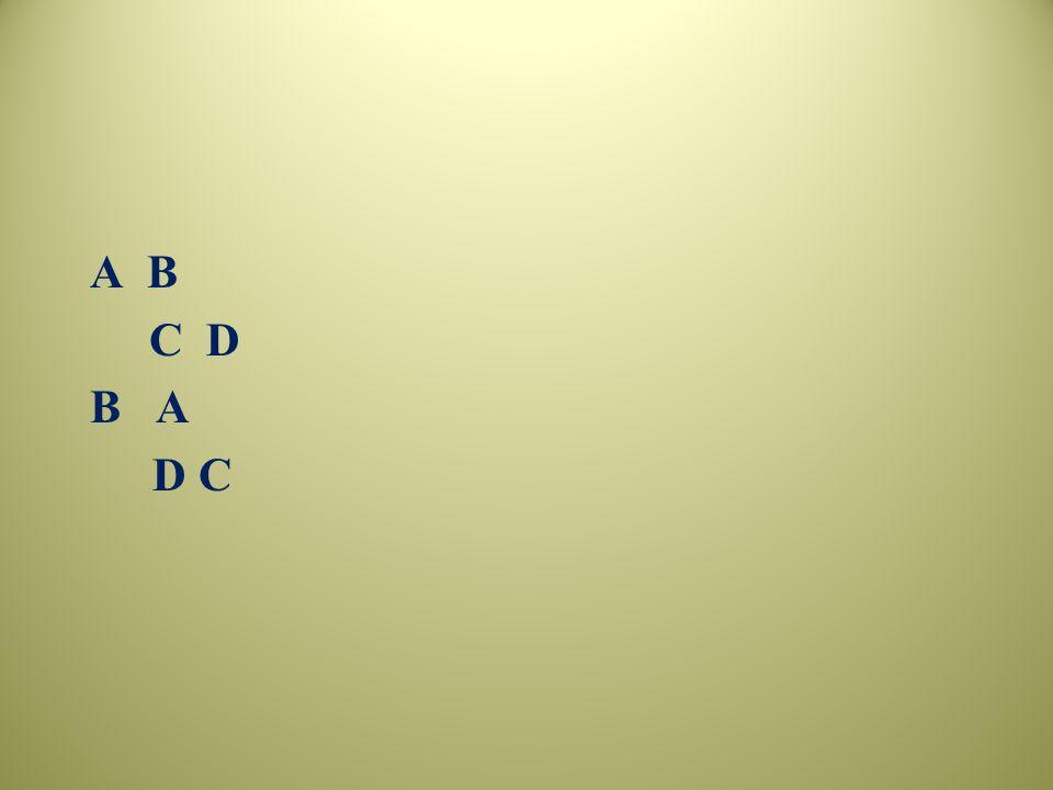 A B C D B A D C