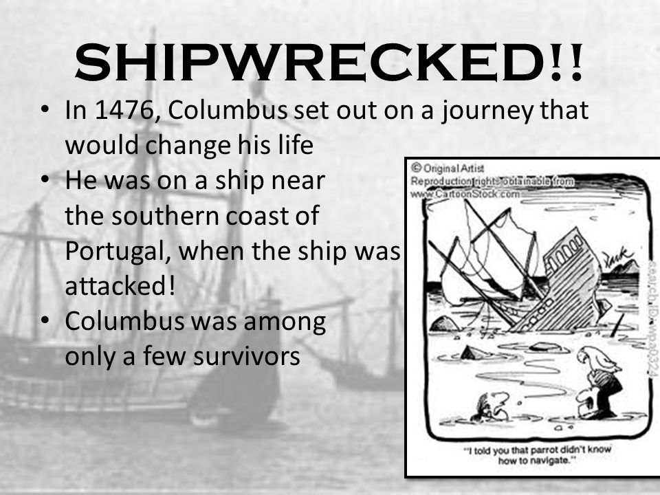 Columbus Learns to Sail.