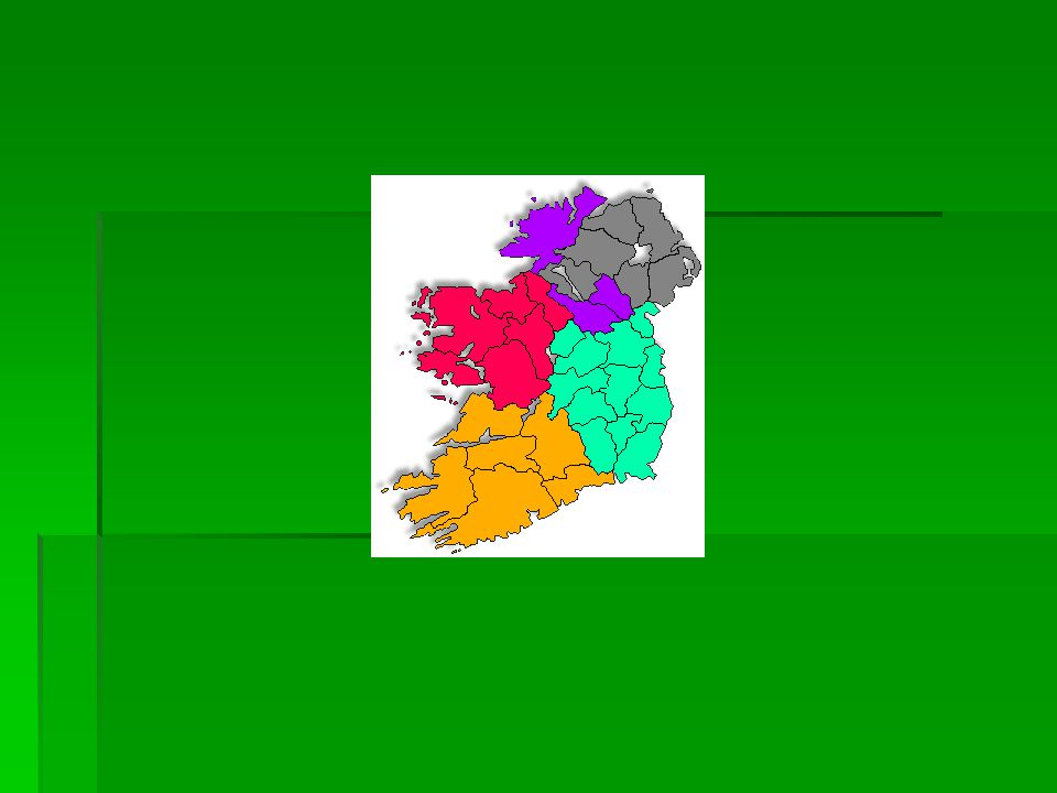 provinces There are four provinces in Ireland.Connacht, Leinster, Munster, and Ulster.