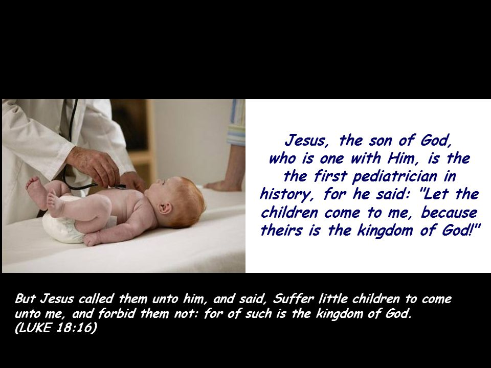Jesus is still the largest blood donor in the world.