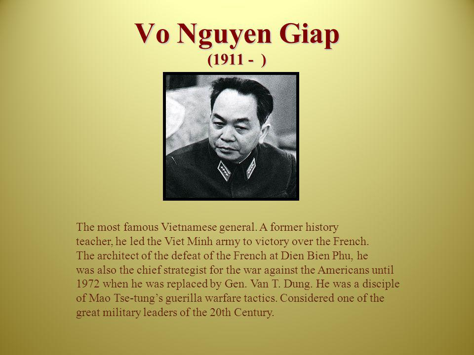 Pham Van Dong Pham Van Dong (1906 - 2000) After Ho Chi Minh and V.