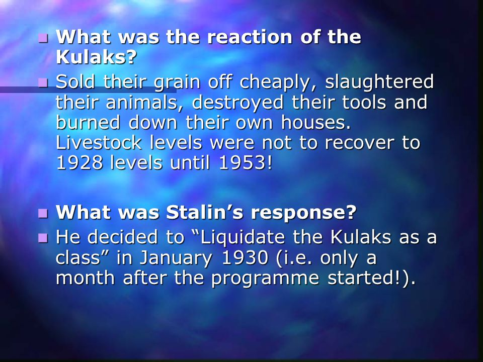 How was collectivisation carried out.