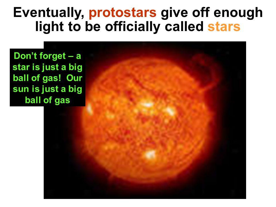 Protostars look like this: