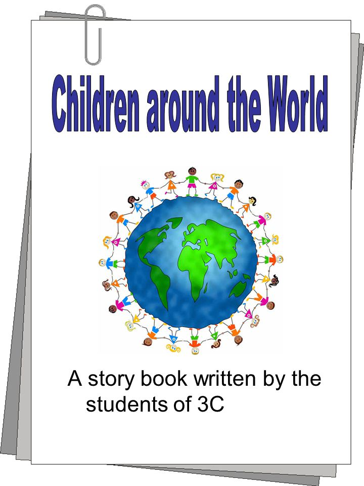 A story book written by the students of 3C