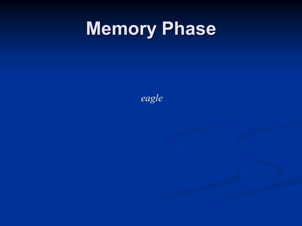 Memory Phase eagle