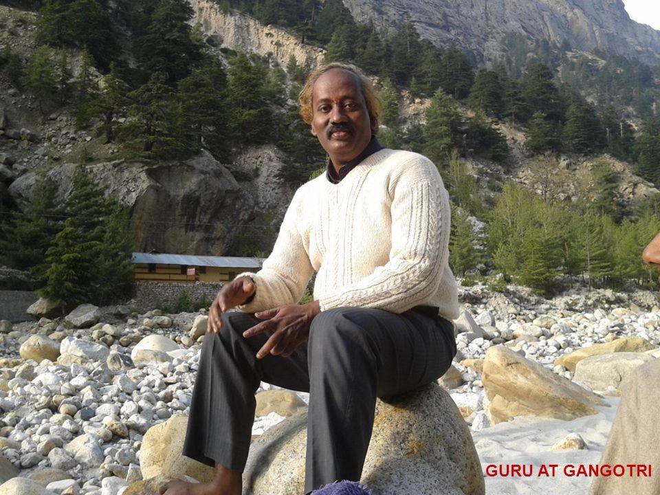 GURU AT GANGOTRI