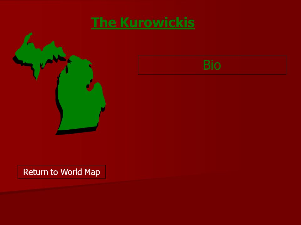 Bio Return to World Map The Kurowickis